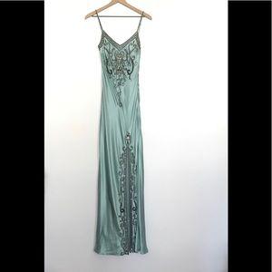 Sue Wong Nocturnal Aqua dress size 6